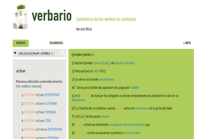Screenshot of Verbario.com